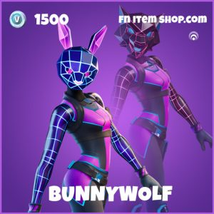 Bunnywolf epic fortnite skin