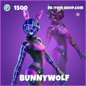Bunnywolf epic fortnite skin
