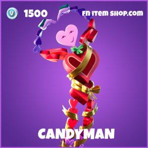 Candyman epic fortnite skin