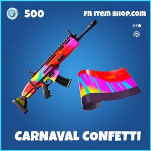 Carnaval confetti rare fortnite wrap