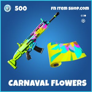 Carnaval flowers rare fortnite wrap