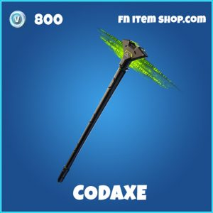 Codaxe rare fortnite pickaxe