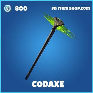 Codaxe rare fortnite pickaxe
