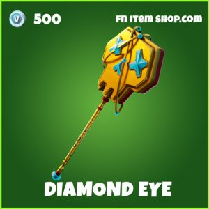 Diamond Eye uncommon fortnite pickaxe