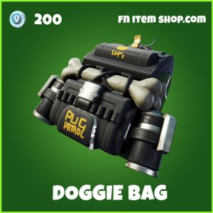 Doggie bag uncommon fortnite backpack