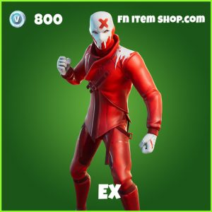 Ex uncommon fortnite Skin