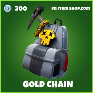 Gold chain uncommon fortnite backpack