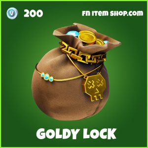 Goldy lock uncommon fortnite backpack