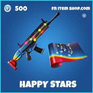 Happy Stars rare fortnite wrap