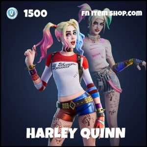 Harley Quinn epic fortnite skin
