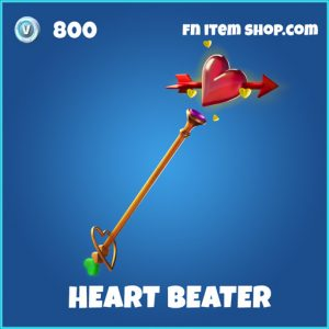 Heart Beater rare fortnite pickaxe