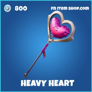 Heavy heart rare fortnite pickaxe