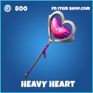 Heavy heart rare fortnite pickaxe