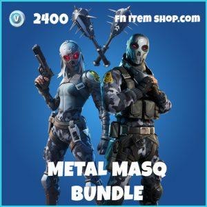 Metal Mask Bundle fortnite item