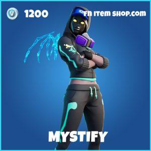 Mystify rare fortnite skin