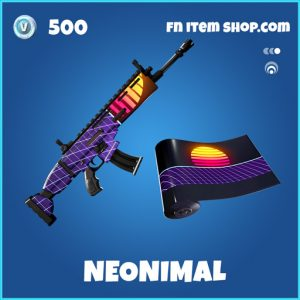 Neonimal rare fortnite wrap