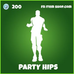 party hips uncommon fortnite emote