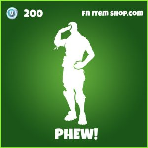 Phew! uncommon fortnite emote