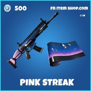 Pink streak rare fortnite wrap