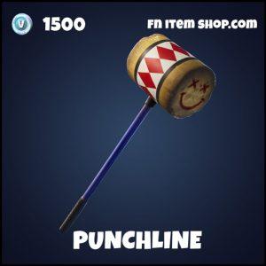 Punchline epic fortnite pickaxe