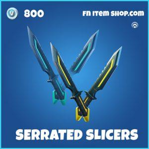 Serrated Slicers rare fortnite pickaxe
