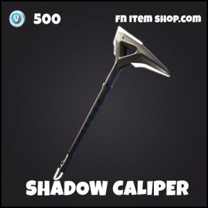 Shadow caliper uncommon fortnite pickaxe