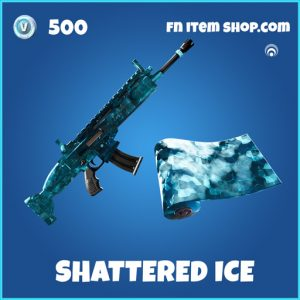 Shattered Ice rare fortnite wrap