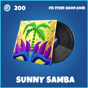Sunny Samba rare fortnite music pack