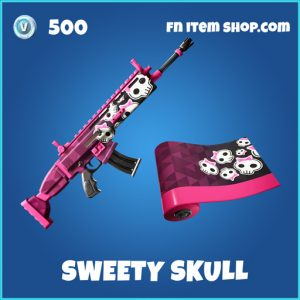 Sweety skull rare fortnite wrap