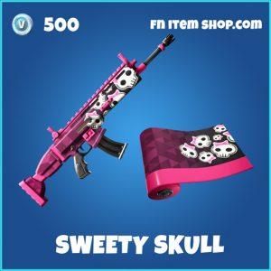 Sweety skull rare fortnite wrap