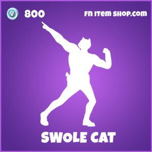 Swole cat epic fortnite emote