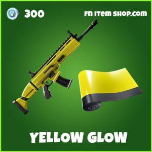 Yellow glow uncommon fortnite wrap
