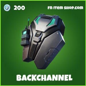backchannel backpack uncommon fortnite