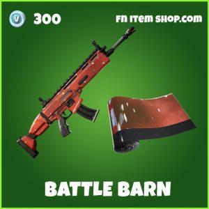 Battle barn uncommon fortnite wrap