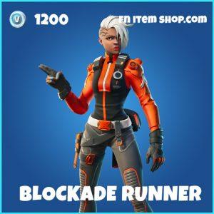 Blockade Runner rare fortnite skin
