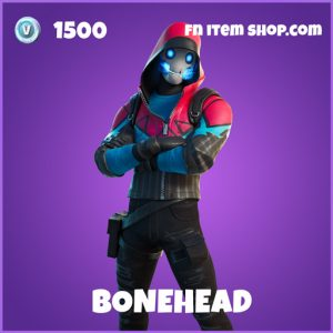 Bonehead epic fortnite skin
