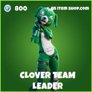 Clover Team Leader uncommon fortnite skin