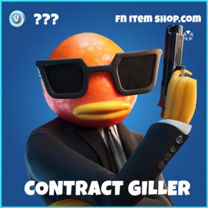 Contract Giller rare fortnite skin