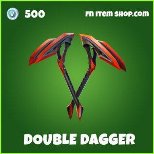 Double Dagger uncommon forntite pickaxe