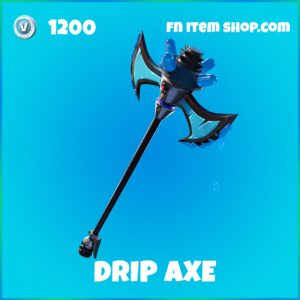 Drip Axe Rare fortnite pickaxe