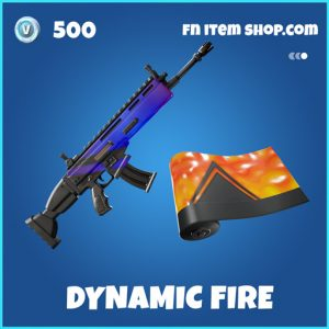 Dynamic fire rare fortnite wrap