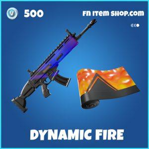 Dynamic fire rare fortnite wrap