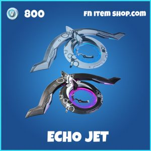 Echo Jet rare fortnite glider