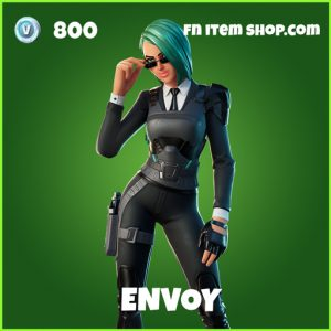 Envoy uncommon fortnite skin