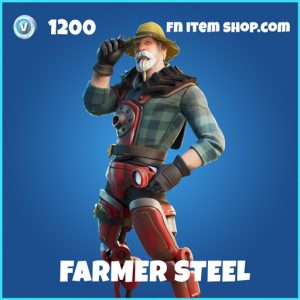 Farmer Steel rare fortnite skin