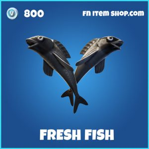 Fresh fish rare fortnite pickaxe