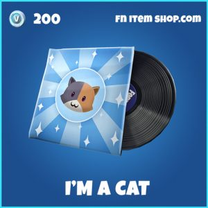 I'm a cat rare music fortnite pack
