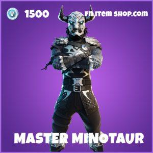 Master Minotaur epic fortnite skin