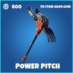 Power Pitch rare fortnite pickaxe
