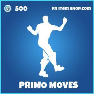 Primo Moves rare fortnite emote